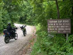 tatham gap dual sport
